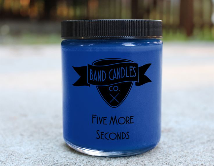 What do you think the band smells like?: The perfect australian summer of course.  Candle size:  8 oz.   100% Soy Wax   Burn Time: Approximately 65 hours  Made to order: Please allow 3-5 days for production.  U.S. shipping usually takes an additional 2-5 days.  International orders can ta...