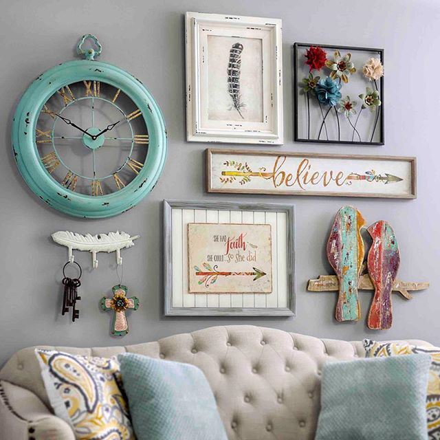 Do you hate when a home is matching and seemingly perfectly styled? Sounds like you love the eclectic nature of #fleamarket finds! Check out our new collection for pieces that are both unique and vintage! Click the link in our profile to buy some of these items and explore the rest of the collection. Can't find what you like? Don't worry - more items coming soon! #myKirklands #vintagedesign #walldecor #popofcolor