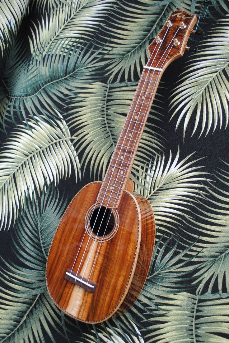 I've been really liking the pineapple shaped ukulele lately! The sound is a little different, but in a good way. I'll have to fiddle around with more of these soon.