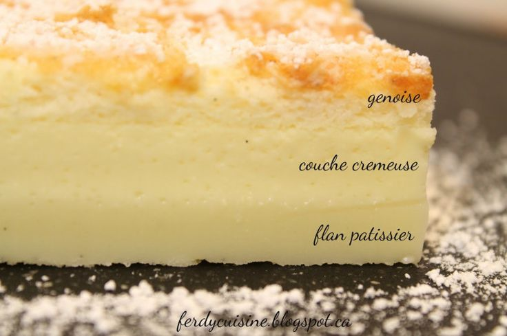 混ぜて焼くだけなのに焼き上がりは三層になっている、その名の通り「魔法のケーキ」は美味しくてリピ確定!本場フランスレシピを伝授いたします。