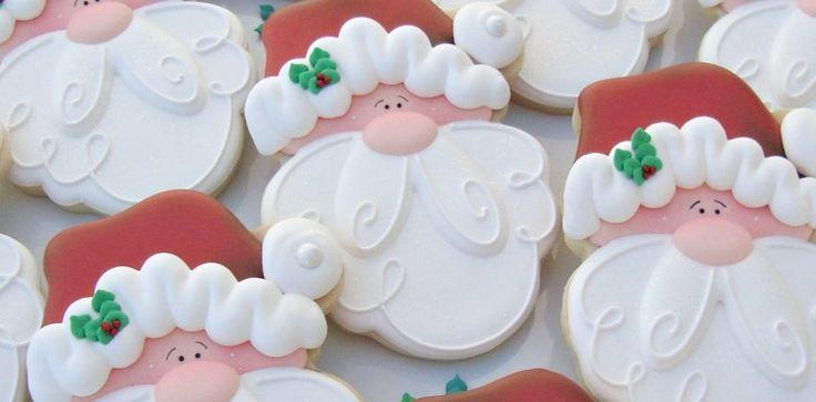 Santa Cookies Tutorial