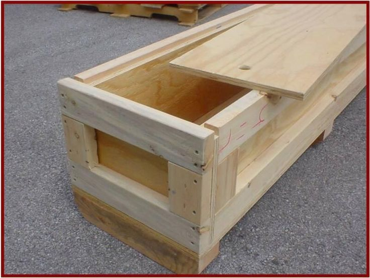 Shipping Crate Home #2 - Wooden Shipping Crates