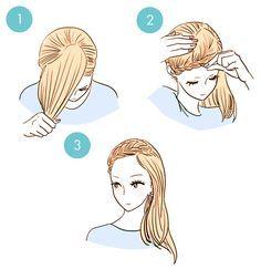 Brillante 3 Minuto peinados cada muchacha debe saber.