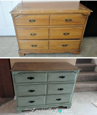 """Step by step on refinishing. Include """"tinted glaze"""""""