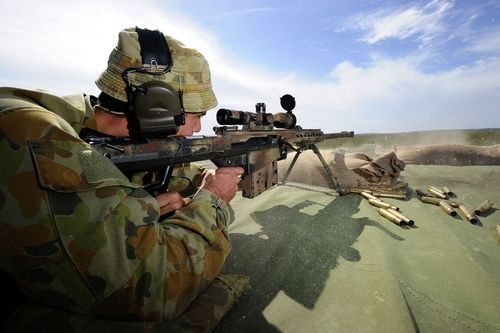 All About Weapons Guns Shotguns: 50 Australian Army Soldier, Private Simon Lancaster of the 7th...