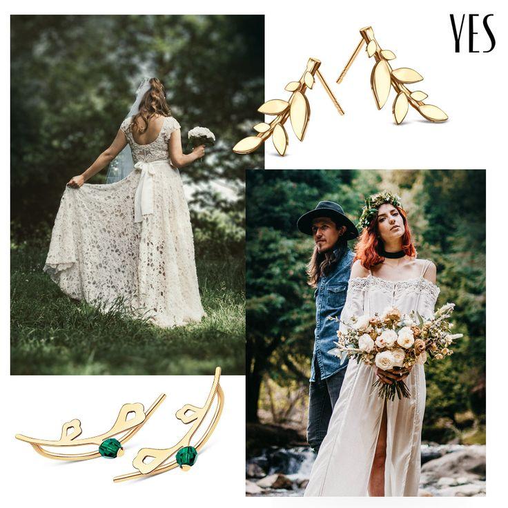 Przepiękna biżuteria, która perfekcyjnie uzupełni Twoją ślubną stylizację - YES.pl