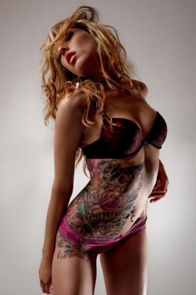 Sexy Stomach Tattoo  Sexy, Stomach Tattoos And Girls-5092