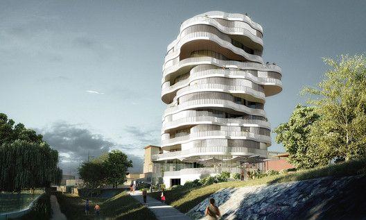 Farshid Moussavi Architecture Wins Jardins de la Lironde Competition,© Farshid Moussavi Architecture