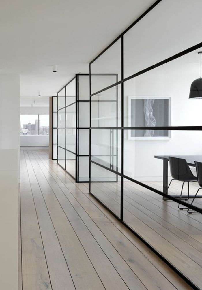 17 best images about cloison separation on pinterest glass walls window and merlin. Black Bedroom Furniture Sets. Home Design Ideas