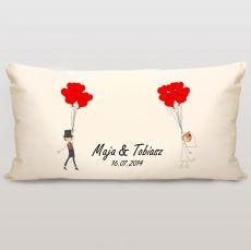 Poduszka personalizowana BALONOWE LOVE idealny na urodziny