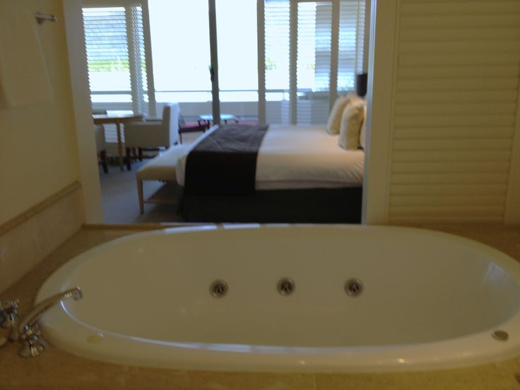 Hotel 1: A place to soak at the Pullman Reef Hotel Casino.