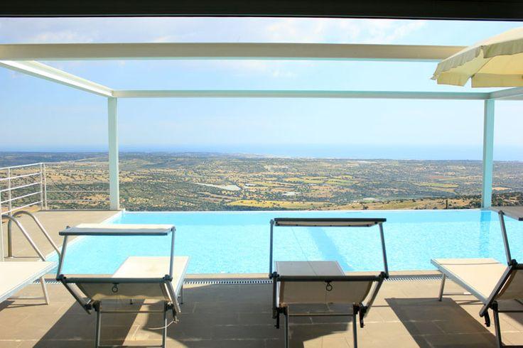 Villa di lusso Afrodite (piscina panoramica) - Luxury villa Afrodite (scenic infinity pool)