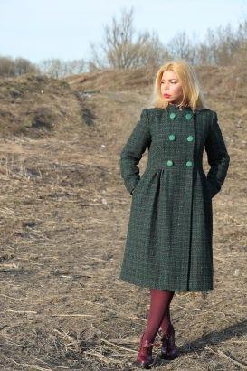 Пальто Мэри Джейн Журнал: Burda 11 /2010 Выкройка №: 127 Пальто