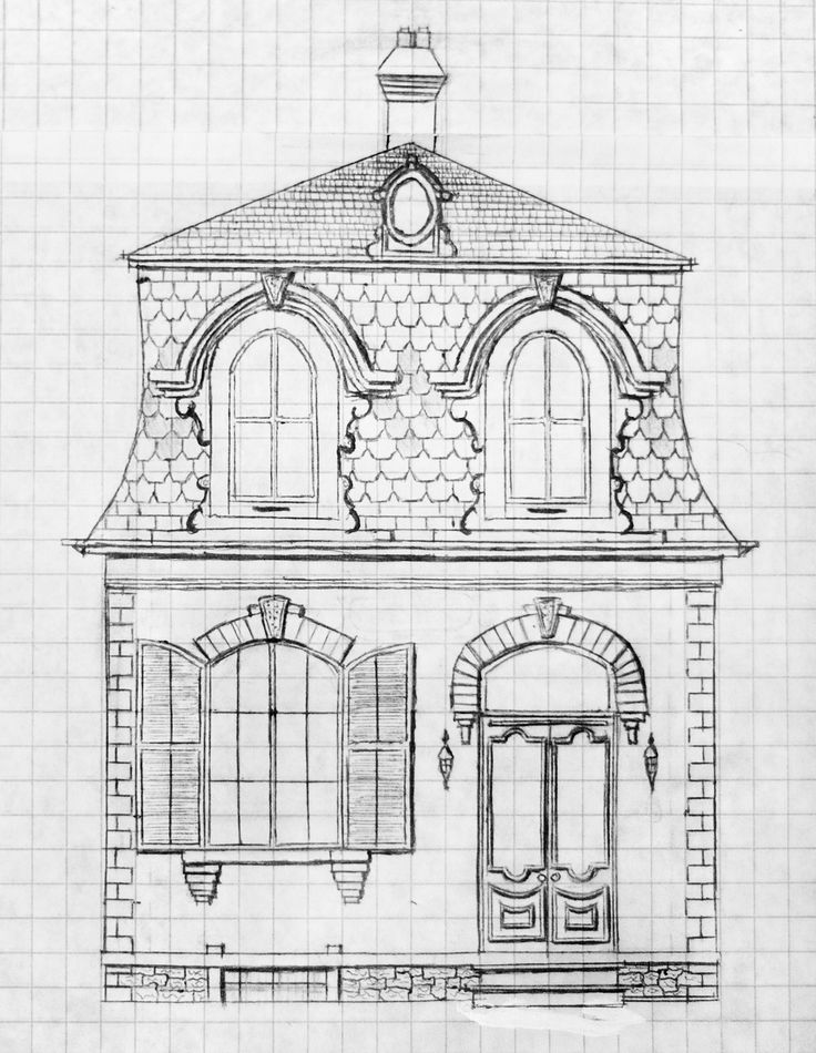 65 best architettura images on pinterest old houses for Second empire victorian house plans