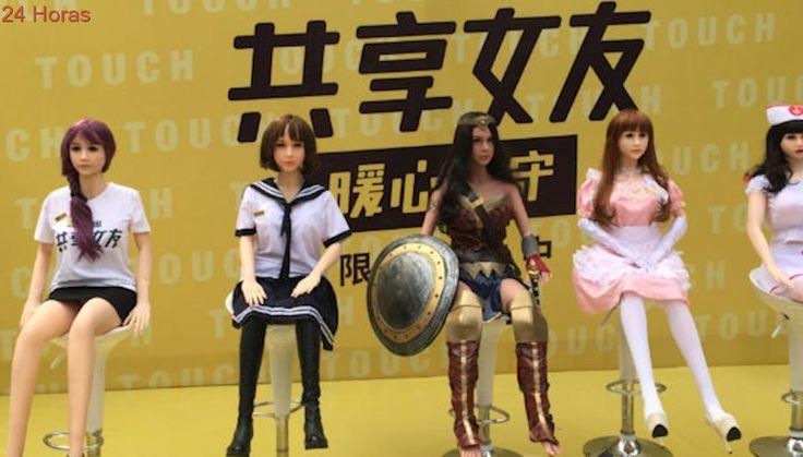 Se pinchó el negocio de las muñecas inflables de alquiler en China