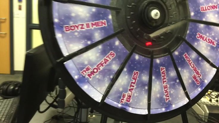 Check out Pepper & Dylan's Boy Band Wheel. Buy this Prize Wheel at https://PrizeWheel.com/.