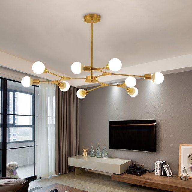 Image result for black and gold lighting fixtures | Bedroom light fixtures,  Black light fixture, Gold living room