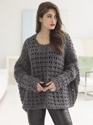 Popover Top By Vladimir Teriokhin - Free Crochet Pattern - (joann.lionbrand)
