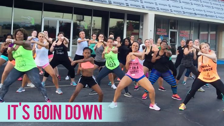 Yung Joc - It's Goin' Down ft. Nitti (Dance Fitness with Jessica Boot Camp)