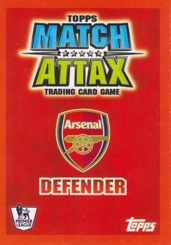 2007-08 Topps Premier League Match Attax #5 Kolo Toure Back