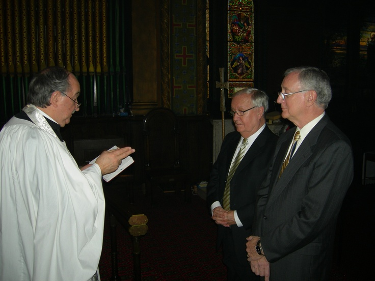 Blessing at first same-sex marriage, St. Mark's Lutheran Church, Baltimore