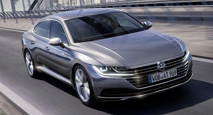 New 2018 Vw Arteon Four Door Coupe Is The Cc S Replacement