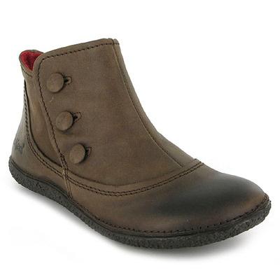 Chaussure Kickers HOBUTTON Marron, chaussure femme