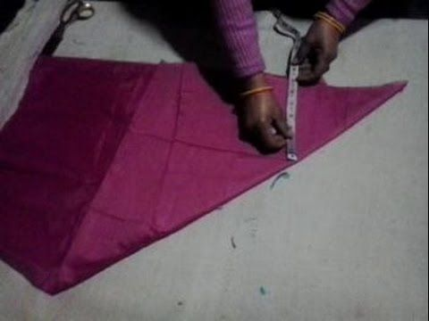 Airline kameez cutting video