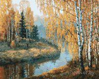Картина по номерам `Вот и осень пришла` (400х500 мм)