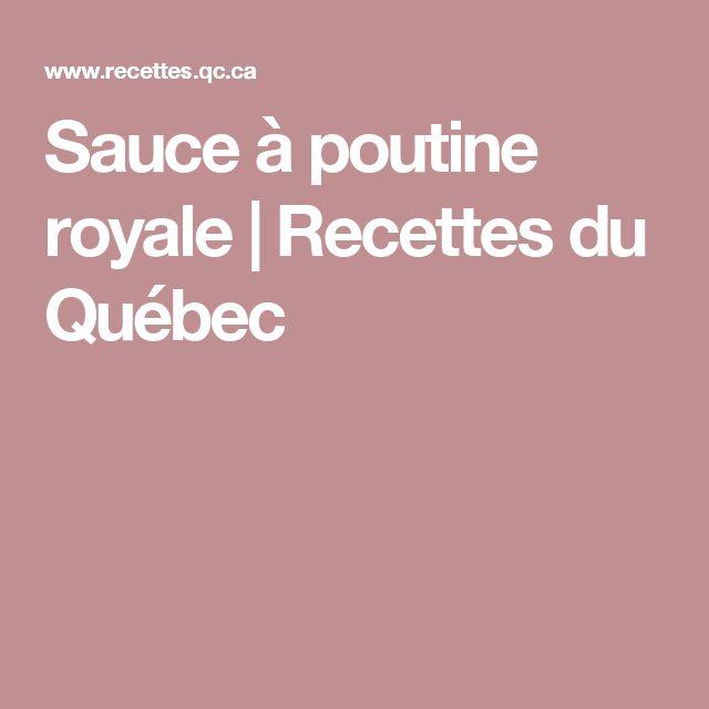 Sauce à poutine royale | Recettes du Québec
