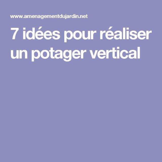 7 idées pour réaliser un potager vertical