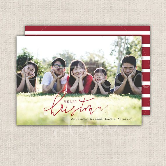 Custom Holiday Card printable postcard that you can print at home, at a store such as Staples, or at a professional printer! Purchase includes: - 1 double sided 5 x 7 holiday postcard, files are high-resolution .PDFs. - Customization of the main picture(s), information, font,
