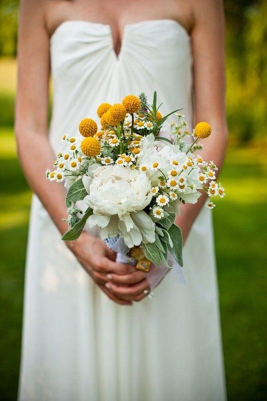 Gele bruidsboeketten de leukste voorbeelden van gele bruidsbloemen