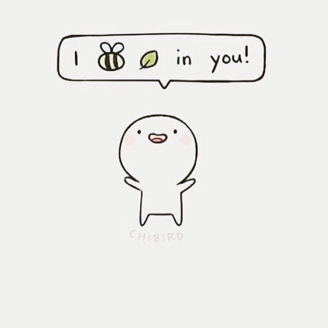 I bee leaf in you | I believe in you ❤️