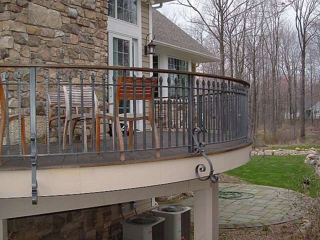 Inspirational Railing for Balcony Outdoor