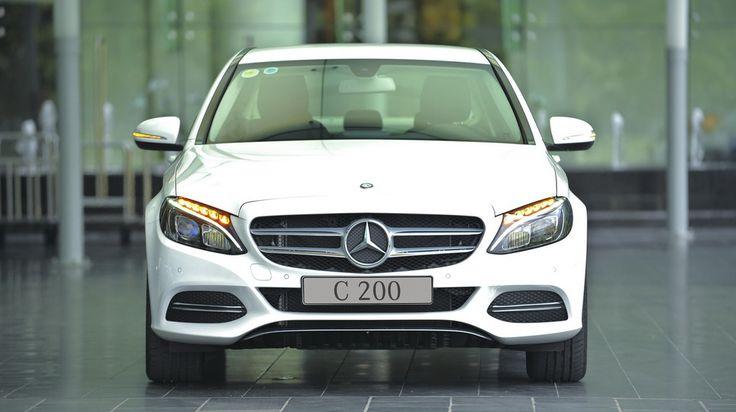 Giá Xe Mercedes C200 - 0945 777 077: Cận cảnh Mercedes C200 2015 vừa ra mắt tại Việt Nam