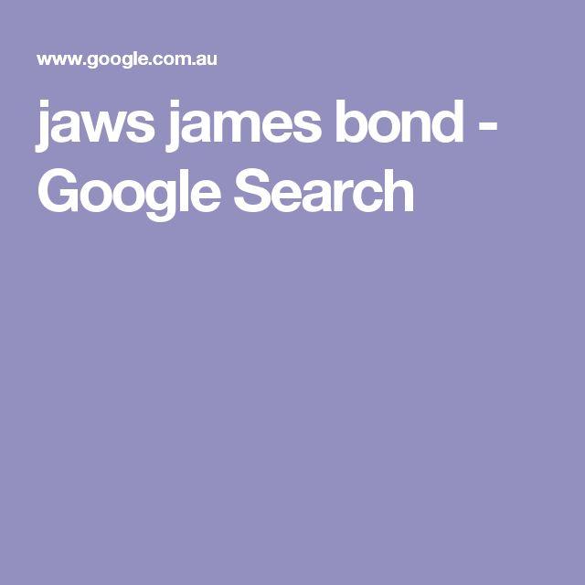 jaws james bond - Google Search