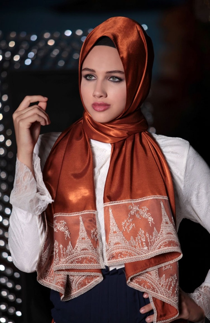 Karaca butik, Neva Style, shawl, scarf, karaca, karacabutik, tesettür, muhafazakar, tesettür moda, moda, başörtüsü, eşarp, dantel eşarp, lace scarf, düğün, özel gün, kokteyl, orange, 2013 tesettür moda