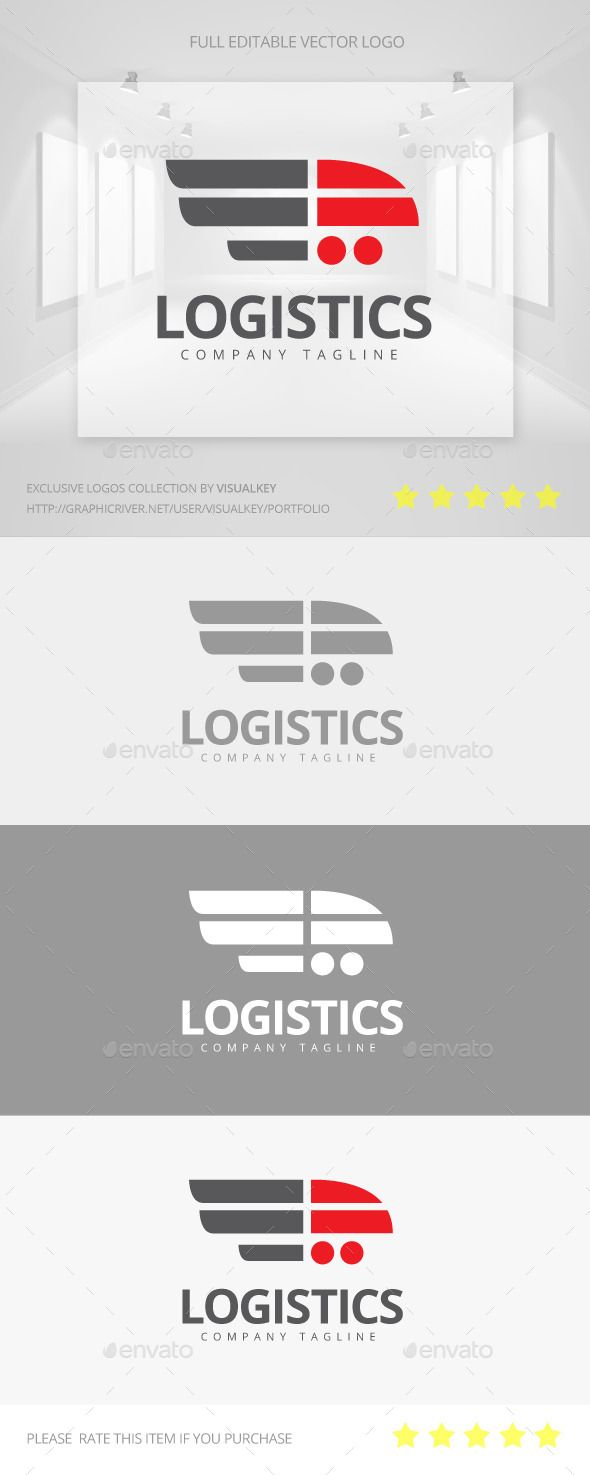Logistics Logo Template Vector EPS, AI. Download here: http://graphicriver.net/item/logistics-logo/11558501?ref=ksioks