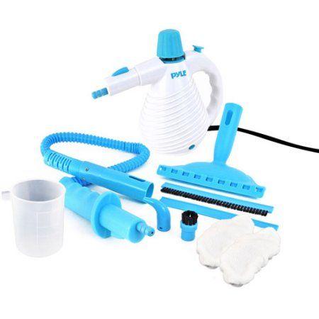 Pyle-Home Handheld Steamer Birdie Multipurpose Pressurized Steam Cleaner, White