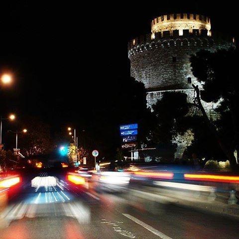 Thessaloniki at night!