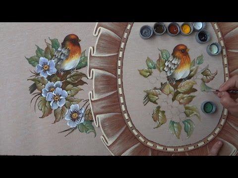 Pássaro e folhas em emborrachado (Aula 6) - YouTube