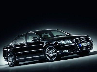 2009 Audi A8 W12 AWD Quattro LWB Black Sedan