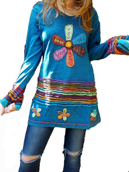 Our signature cut work and embroidered tops are always a winner #hippieclothing #hippiefashion #himalayanhandmades