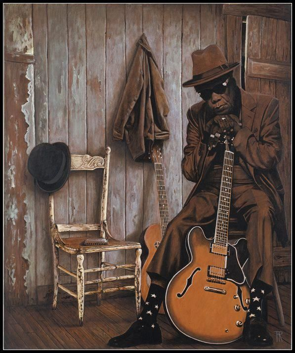 #John #Lee #Hooker by Theo Reijnders