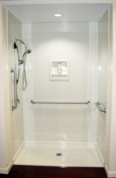 Ada Shower Pan Ot Shower 60 X 60 Shower Stall Barrier Free U0026 Ada Compli