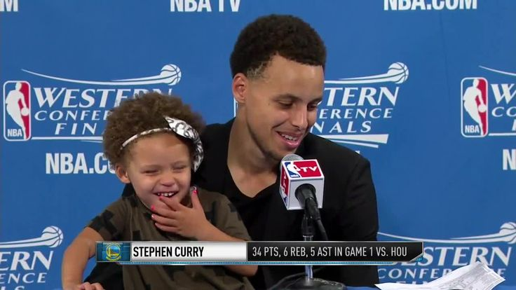Stephen Curry's Daughter Riley Is a Postgame Interview Treasure | Bleacher Report