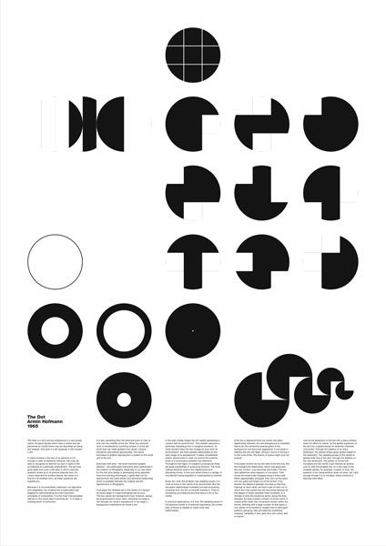 Emil Ruder | mostly shapes, two size text, mostly images