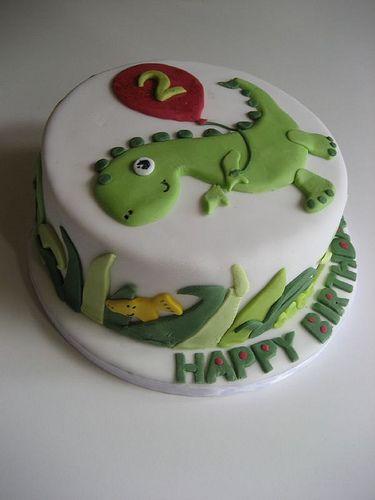 25 Best Ideas About Dinosaur Birthday Cakes On Pinterest
