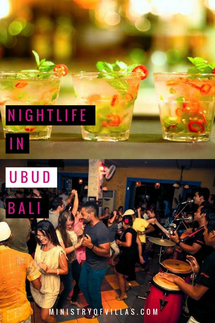 Ubud travel guide - Check out our picks for the best nightlife in Ubud, Bali. Ubud is Bali's spiritual capital made famous by Eat, Pray, Love, but this Balinese haven also offers great salsa and fabulous cocktails!